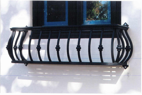 Wrought Iron Balcony - Fort Worth, TX